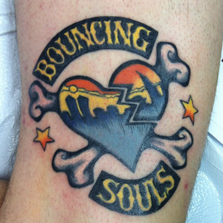 Tattoos - Bouncing Souls - 101556